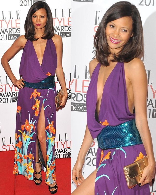 Thandie Newton ELLE Style Awards 2011 held at the Grand Connaught Rooms - Arrivals London, England