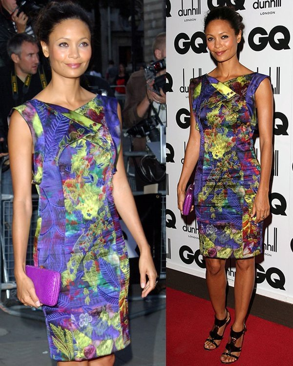 Thandie Newton GQ Men of the Year Awards held at the Royal Opera House - Arrivals London, England