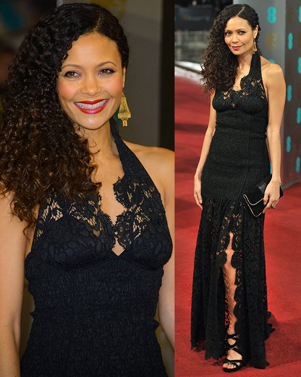 Thandie Newton The 2013 EE British Academy Film Awards held at the Royal Opera House - Arrivals London, England