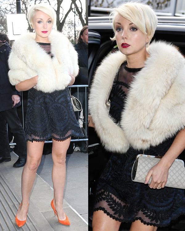 Trixie Franklin at The TRIC Awards 2013 held at the Grosvenor House Hotel - Arrivals
