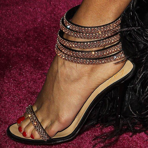 Vanessa Hudgens Giuseppe Zanotti sandals