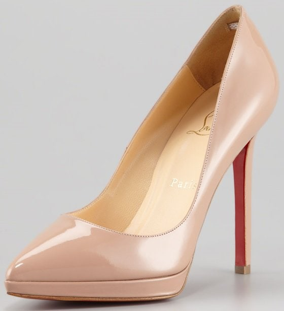 christian louboutin pigalle plato nude