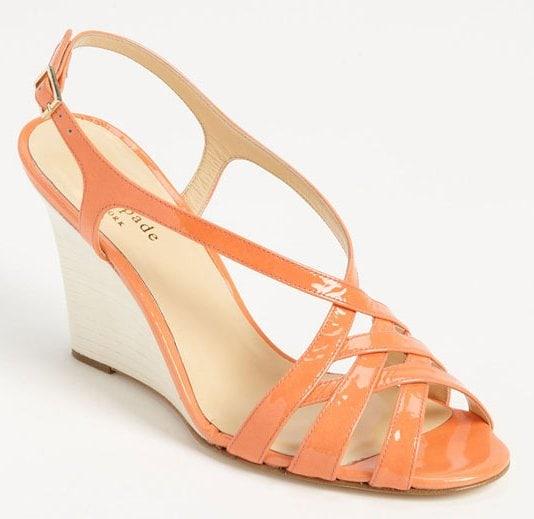kate spade new york 'illie' wedge sandal