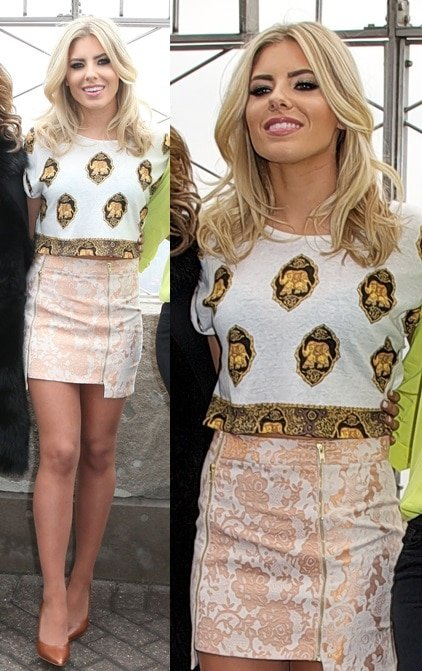 The Saturdays in NYC mollie king march 11