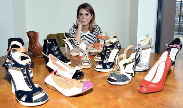 The Amy Huberman Collection has 15 styles consisting of wedges, boots, evening sandals, and flats
