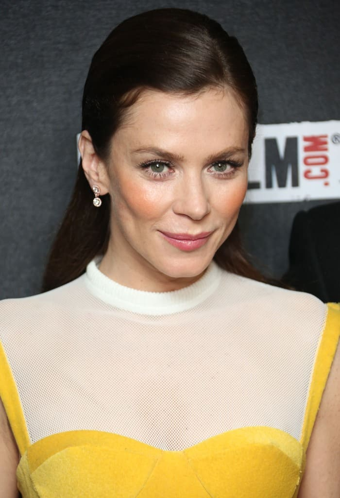 Anna Friel attends 'The Look Of Love' UK film premiere at Curzon Soho in London on April 15, 2013