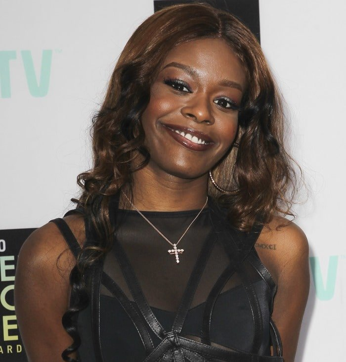 Azealia Banks at the 6th Annual Logo NewNowNext Awards at the Fonda Theater in Los Angeles on April 13, 2013