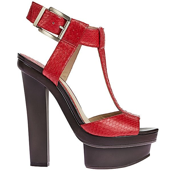 "B Brian Atwood ""Beaumont"" T-Strap Platform Sandals"