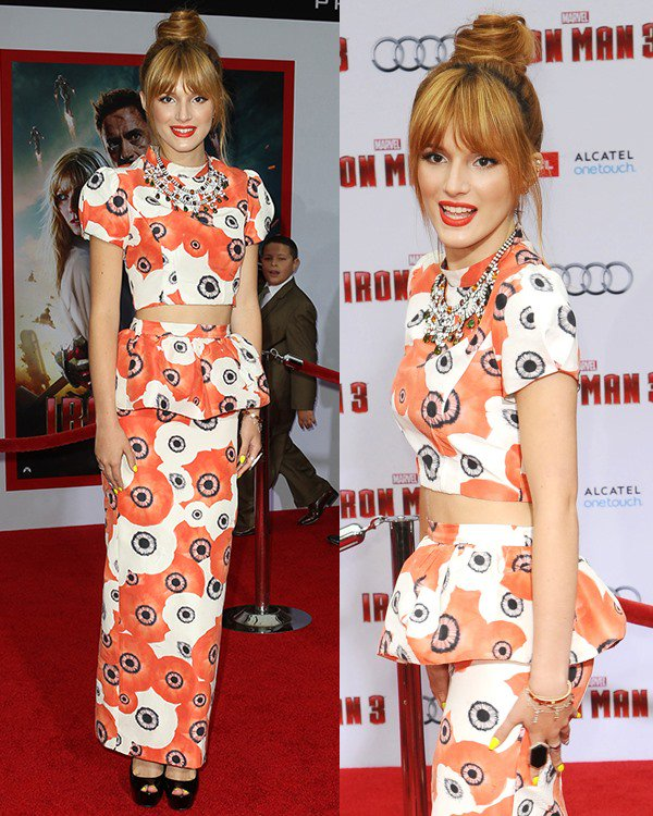 Bella-Thorne-at-the-Iron-Man-3