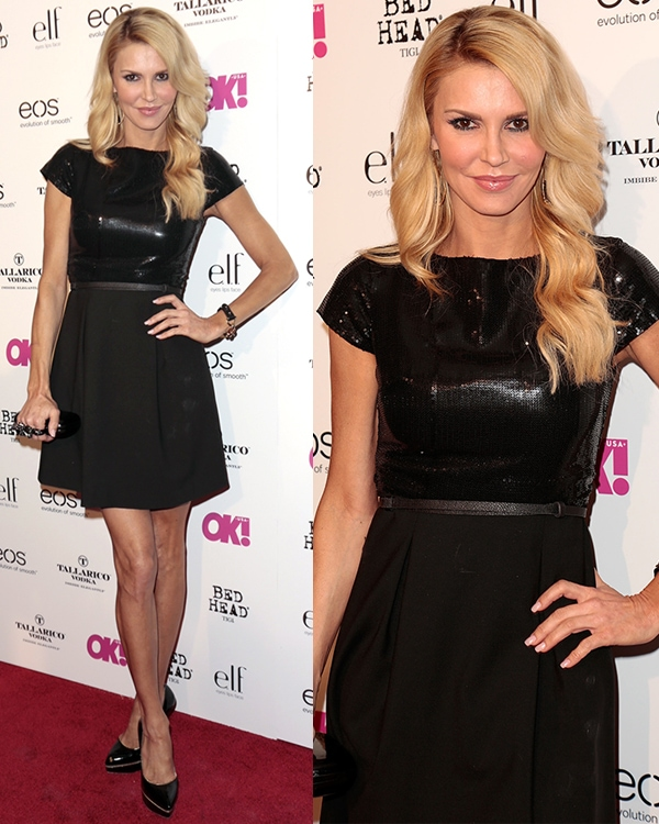 "Brandi Glanville at OK! magazine's ""So Sexy"" event at Skybar at the Mondrian Hotel in Los Angeles on April 18, 2013"