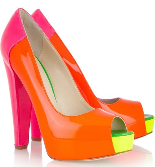Brian Atwood Alima Neon Pumps