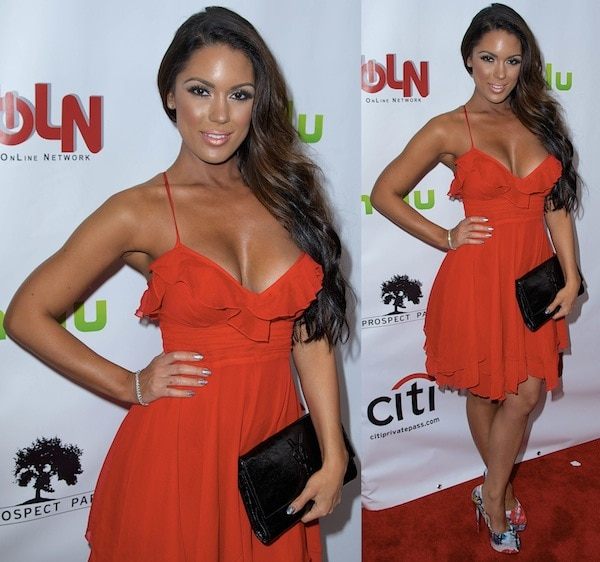Carissa Rosario at the 'One Life to Live' and 'All My Children' premiere in New York City on April 23, 2013