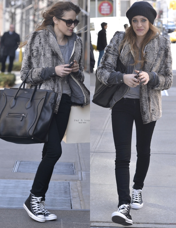 2593247cf009 How to Wear Converse Chuck Taylor Sneakers Like Carly Chaikin