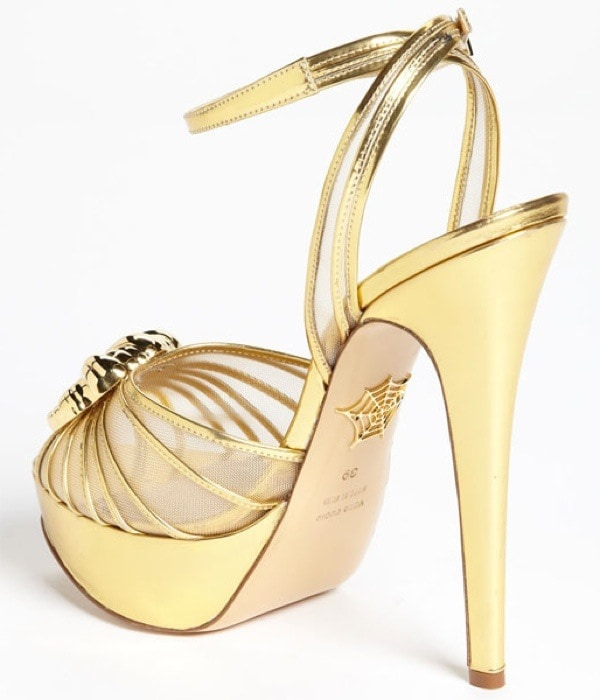 Charlotte Olympia 'Croissant' Pump
