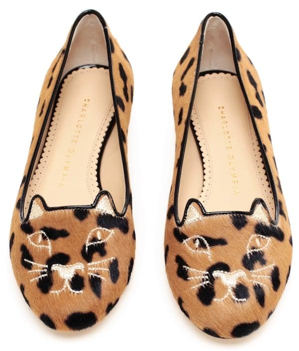 Charlotte Olympia Kitty Flats3