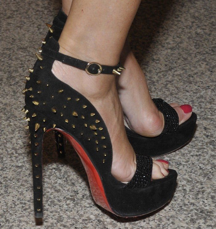 Marion Fedder's Christian Louboutin sandals