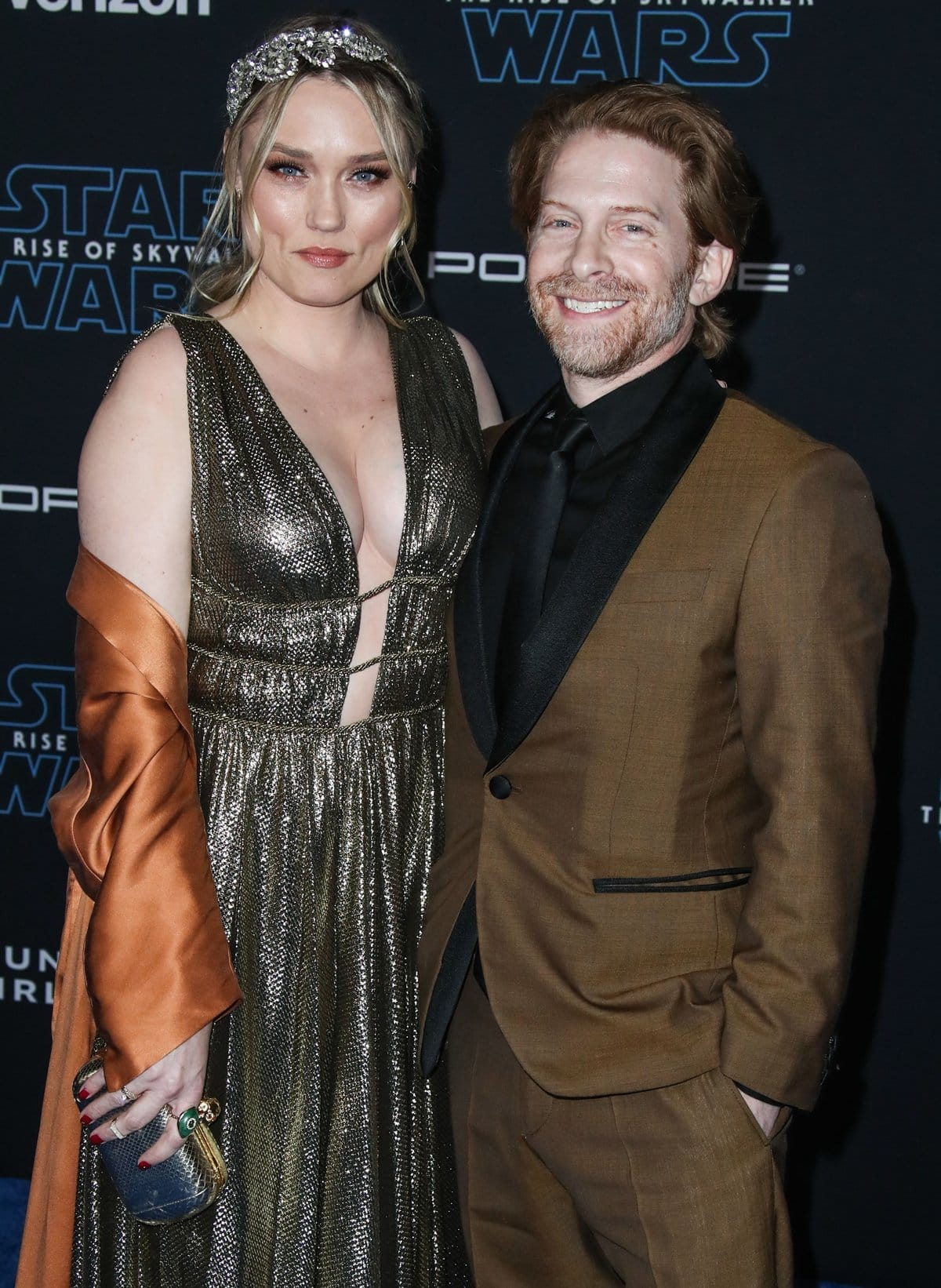 Clare Grant and Seth Green in 2007 at the Golden Apple Comics and married on May 1, 2010, at Skywalker Ranch in Marin County, California