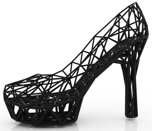Continuum black stiletto
