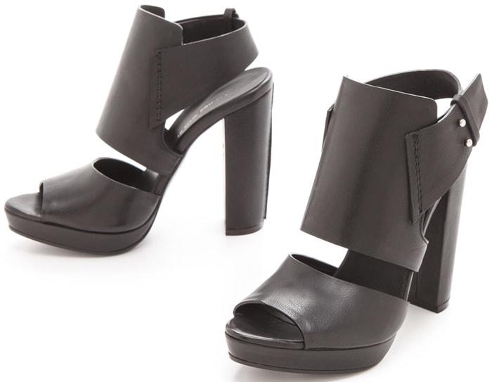 Costume National Slingback Heeled Sandals