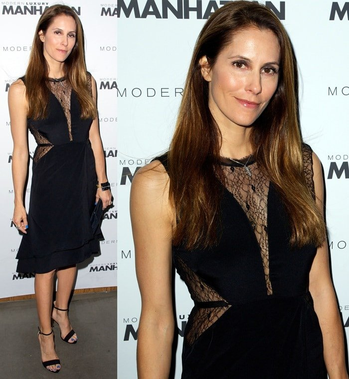 Cristina Cuomo at Manhattan Magazine Men's Issue party hosted by Zach Quinto in New York City on April 9, 2013