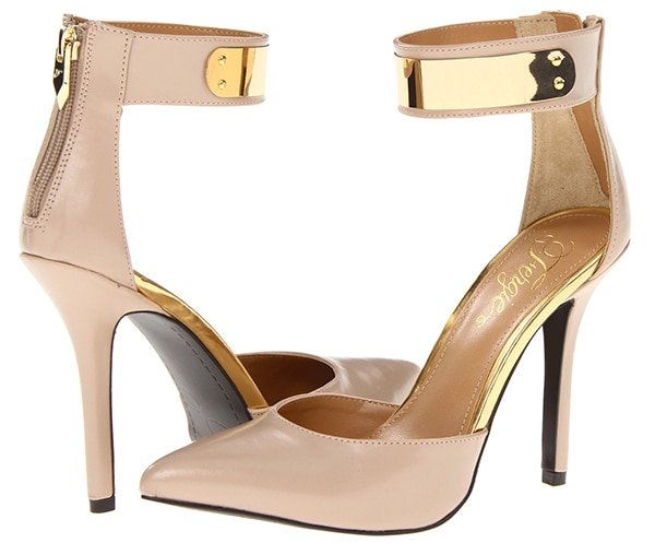 Fergie Palace Sandals in Nude