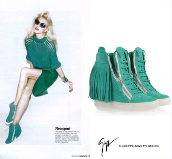 High Tops by Giuseppe Zanotti in Cosmopolitan Greece