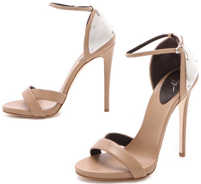 Giuseppe Zanotti Ankle-Strap Sandals with Metal Detail