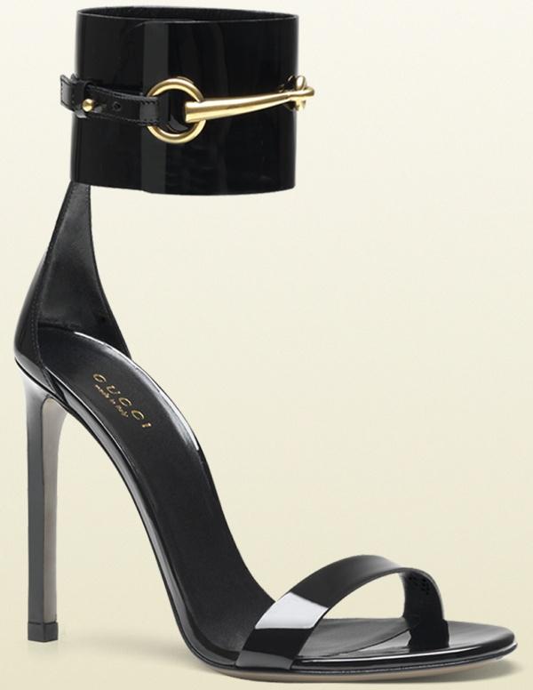 Gucci 'Ursula' Sandal in Black