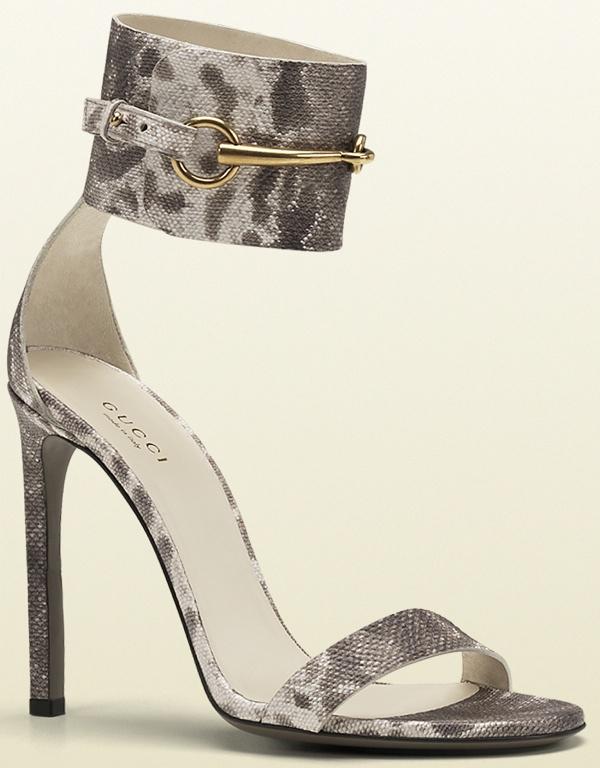Gucci 'Ursula' Sandal in Grey