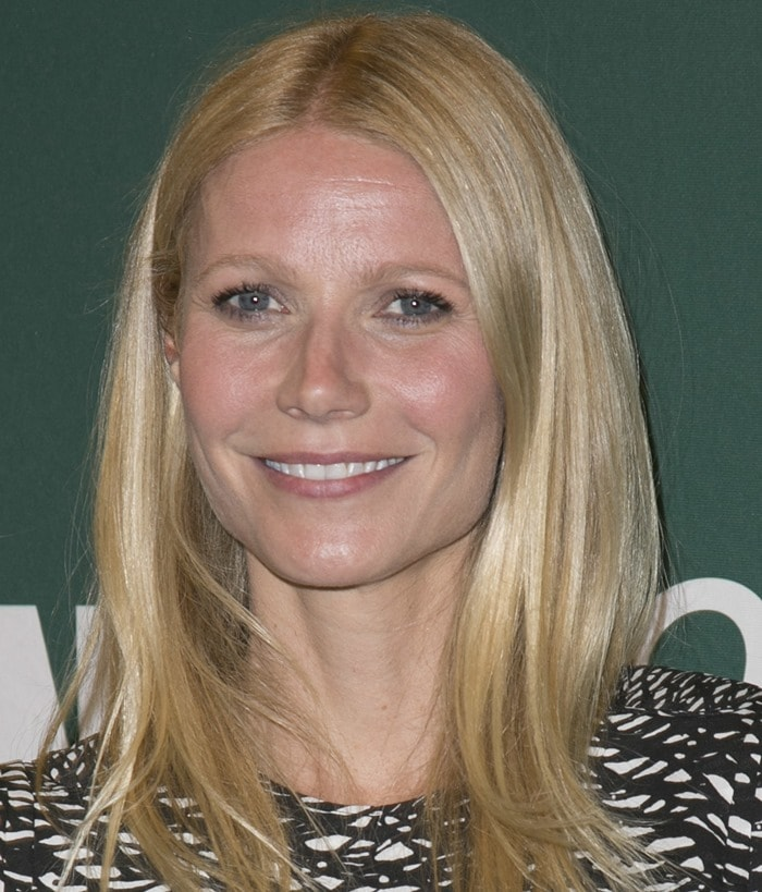 Gwyneth Paltrow wore a printed mini dress from Isabel Marant
