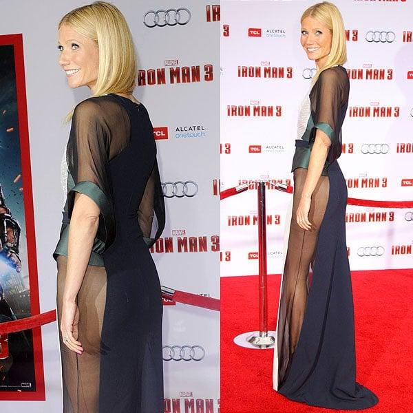 Gwyneth Paltrow Iron Man 3 LA premiere 1