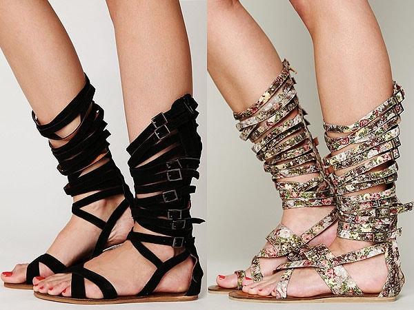 "Jeffrey Campbell ""Romana"" Gladiator Sandals"
