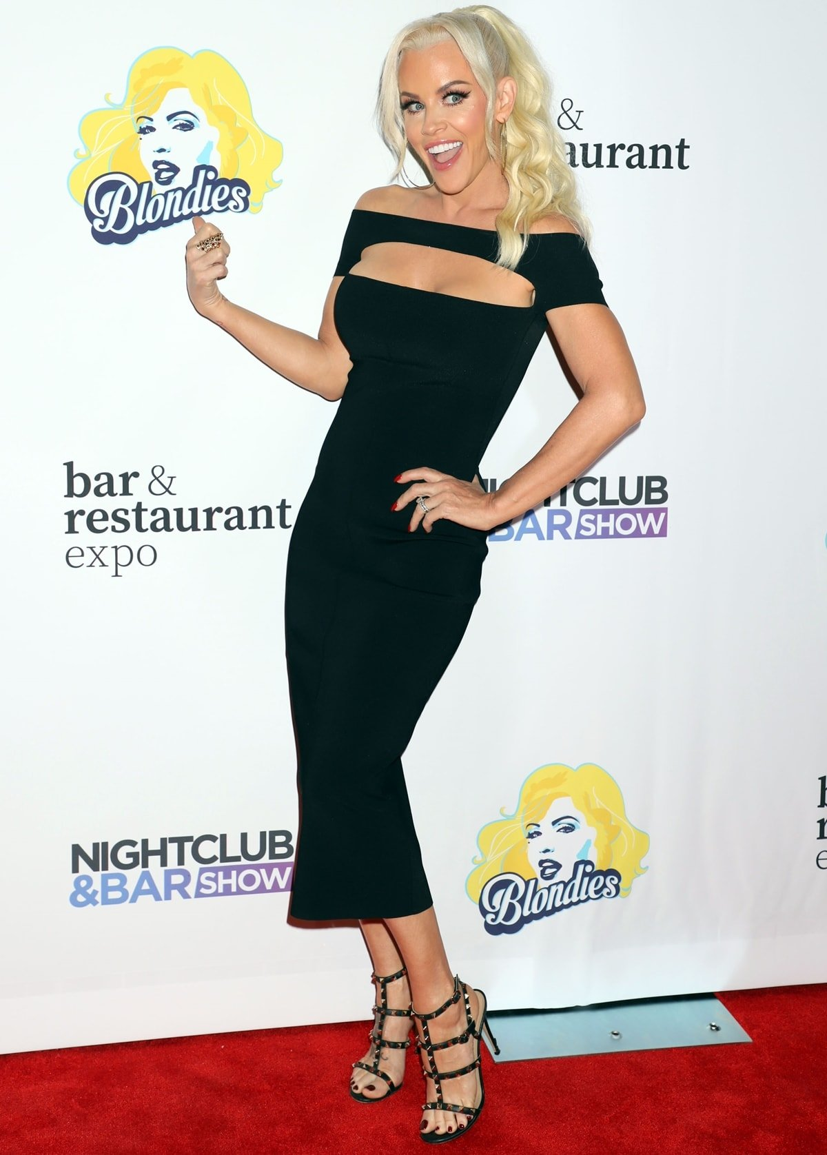 Jenny McCarthy attends Day 2 of the 35th Annual Nightclub & Bar Show and World Tea Expo at the Las Vegas Convention Center on June 29, 2021 in Las Vegas, Nevada