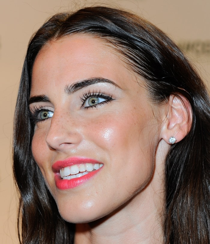 Jessica Lowndes at the launch of H&M Conscious Collection in Miami, April 5, 2013