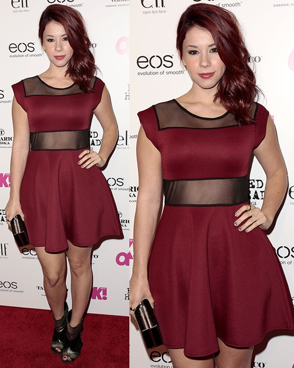 Jillian Rose Reed attends OK! Magazine's SO SEXY event at Skybar at The Mondrian Hotel on April 18, 2013
