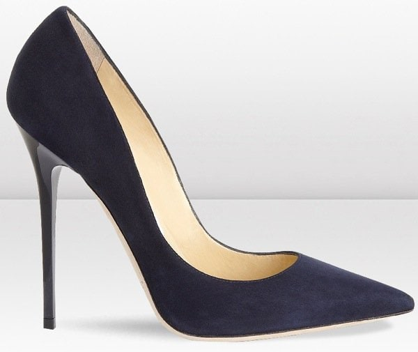 Jimmy Choo Anouk in Navy Outstep