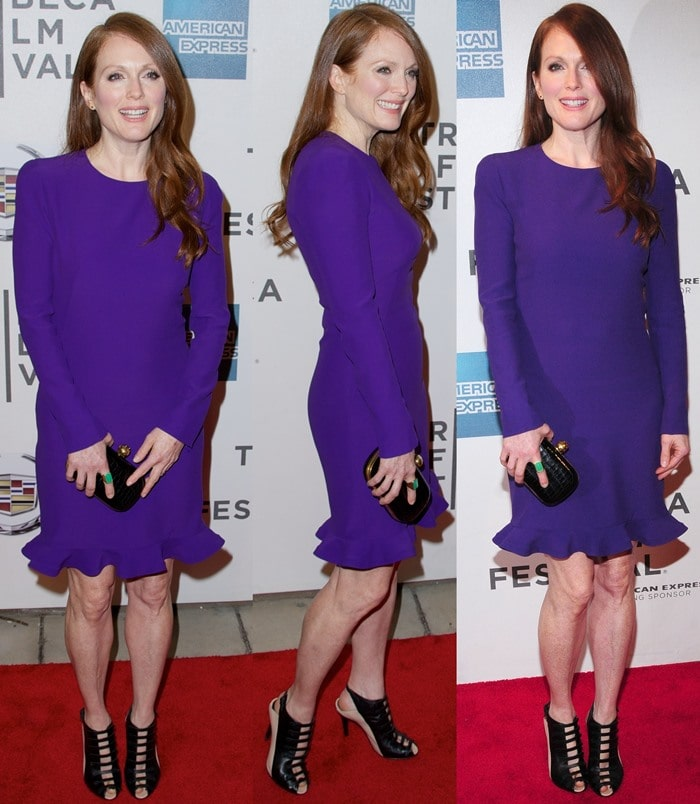 Julianne Moore at the screening of The English Teacher during the 2013 Tribeca Film Festival, April 26, 2013