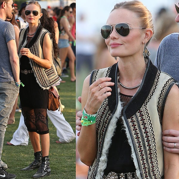 Kate Bosworth should be a model for Coachella if there ever was such a thing.
