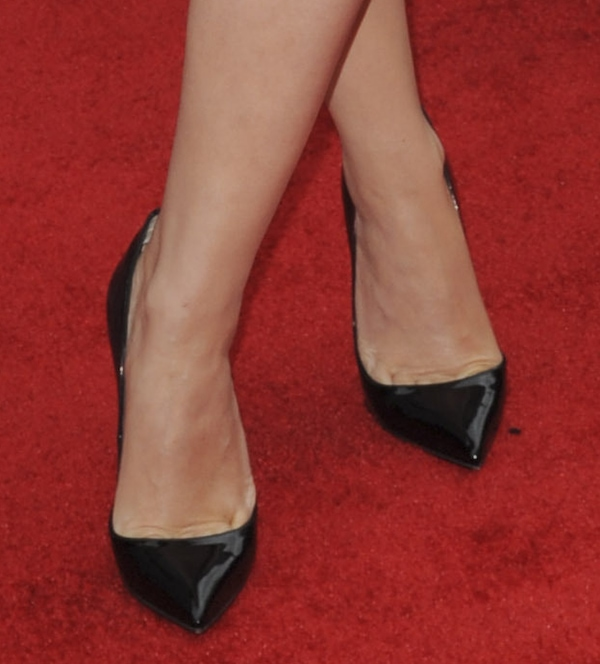 Kylie Minogue in Christian Louboutin 'Pigalle' pumps