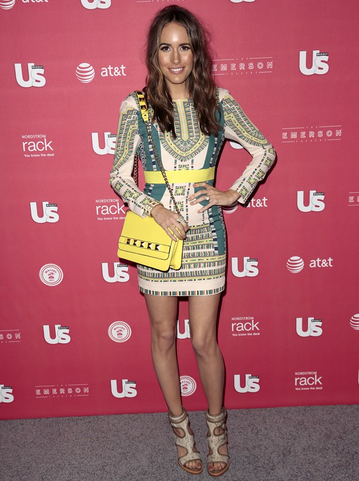 Louise Roe attends the Us Weekly's Annual Hot Hollywood Style Issue Party