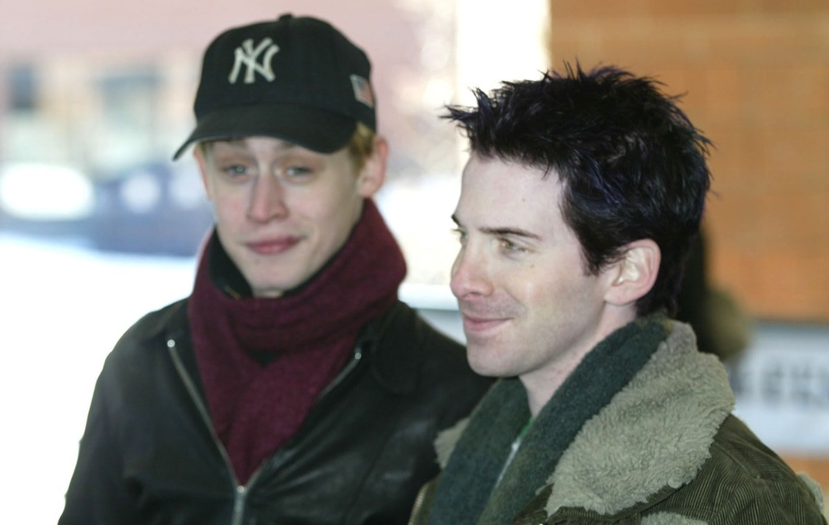 Macaulay Culkin and Seth Green at the 2003 Sundance Film Festival