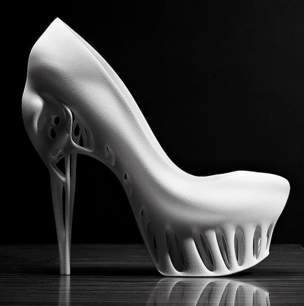 Marleka Ratsma With Kostika Spaho Biomimicry Shoes