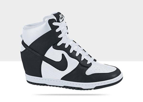 Nike Dunk Sky Hi White and Black