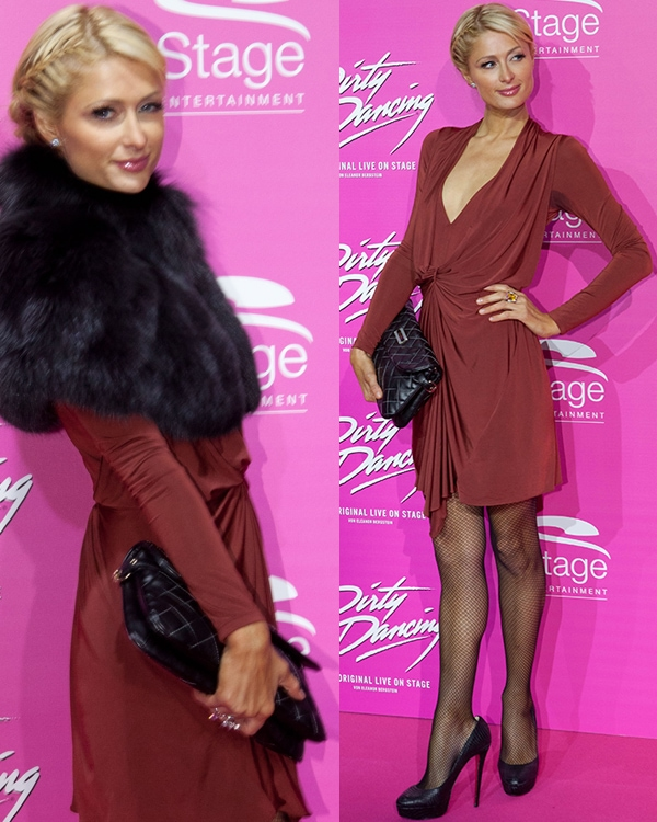 Paris Hilton at the Dirty Dancing musical premiere at Metronom Theater in Oberhausen, Germany on October 19, 2011