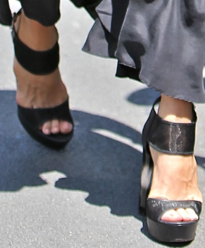 Rachel Zoe's Lexi platform sandals
