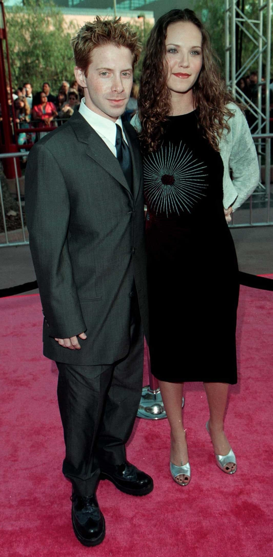 """Seth Green and his girlfriend Chad Morgan at the world premiere of """"Austin Powers - The Spy Who Shagged Me"""""""