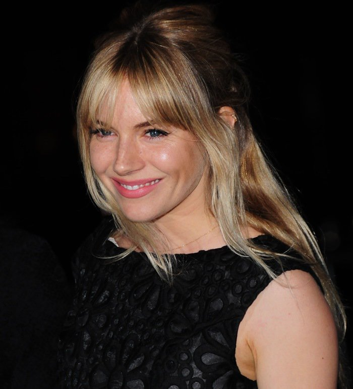 Sienna Miller at the Vanity Fair Party held during the 2013 Tribeca Film Festival in New York City on April 16, 2013