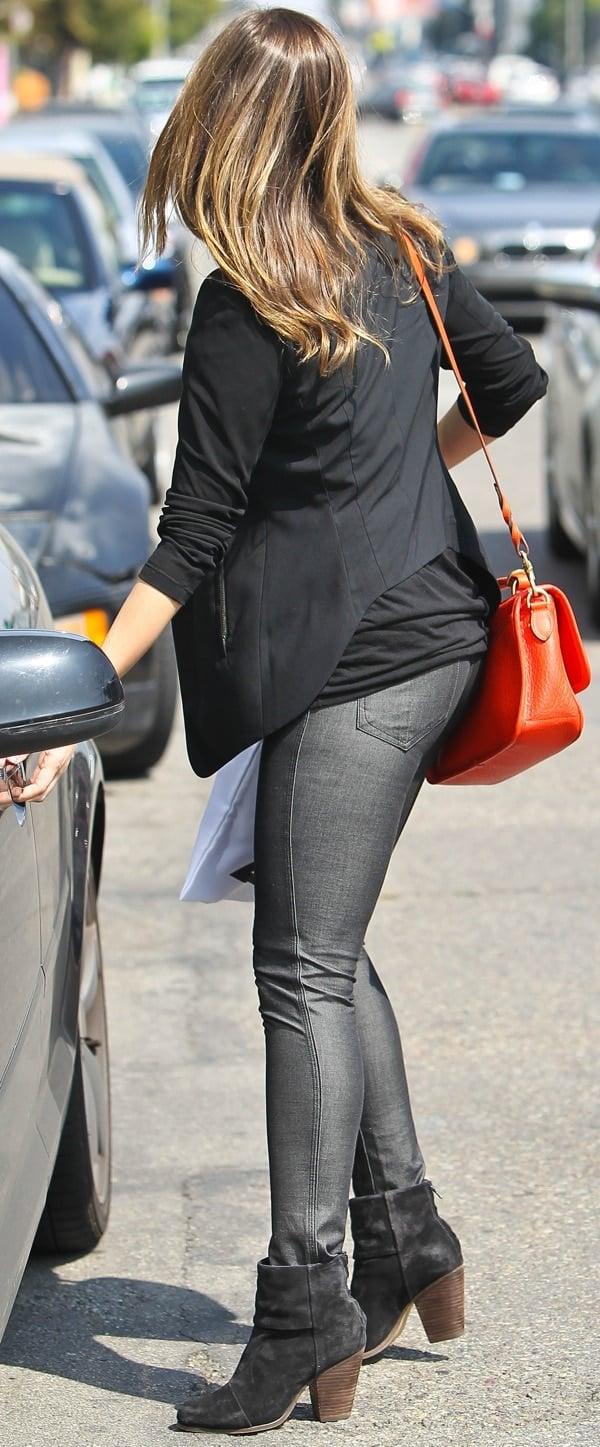 142f05f3bd2 How to Wear Classic Rag   Bone  Newbury  Booties Like Sophia Bush