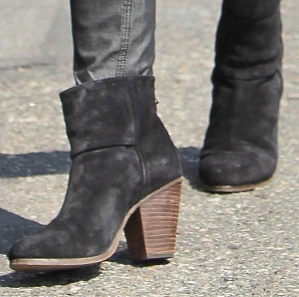 Sophia Bush running errands in West Hollywood