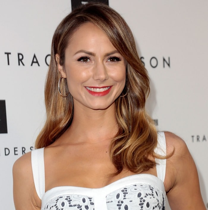 Stacy Keibler at the opening of the Tracy Andersion Flagship Studio in Brentwood on April 4, 2013